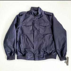 Claiborne Dobby Tech Members Only Bomber Jacket